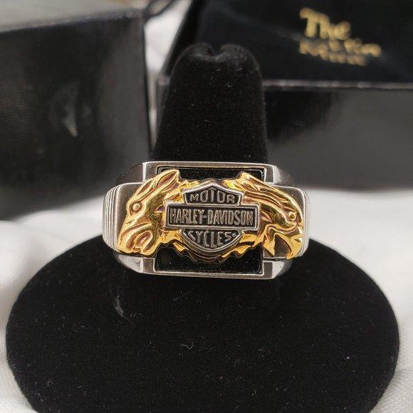 """Harley Davidson/Franklin Mint Other - Franklin Mint """"Bold Spirit"""" Harley Davidson Ring"""